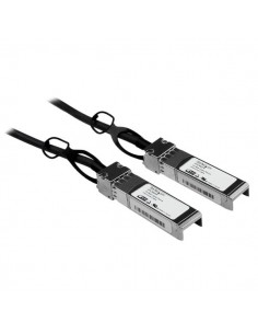 StarTech.com Cisco SFP-H10GB-CU1M Compatible 1m 10G SFP+ to Direct Attach Cable Twinax - 10GbE Copper DAC 10 Gbps Low Power Star
