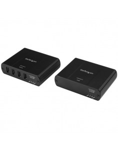 StarTech.com Newer version available USB2004EXT2NA; 4-Port USB Extender - Up to 330 ft (100m) 2.0 Over Cat5/Cat6 480 Mbps Starte