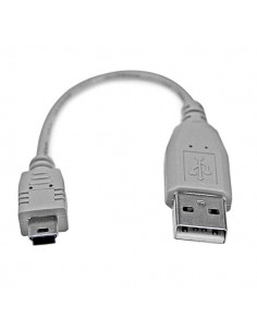 StarTech.com 6in Mini USB 2.0 Cable - A to B Startech USB2HABM6IN - 1