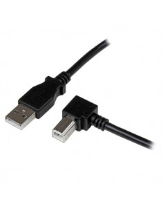 StarTech.com USBAB1MR USB-kablar 1 m USB 2.0 A B Svart Startech USBAB1MR - 1