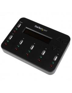 StarTech.com USBDUP15 levyjen monistuslaite USB-muistitikun monistaja 5 kopiot Musta Startech USBDUP15 - 1