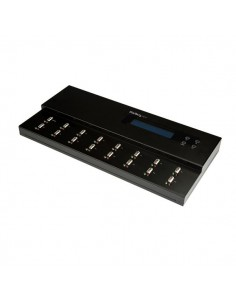 StarTech.com USBDUPE115 levyjen monistuslaite USB-muistitikun monistaja 15 kopiot Musta Startech USBDUPE115 - 1