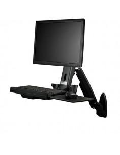 StarTech.com Väggmonterat sitt/stå-skrivbord - en skärm Startech WALLSTS1 - 1