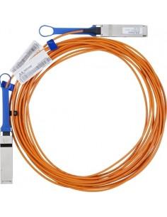 Hewlett Packard Enterprise 5 Meter InfiniBand FDR QSFP V-series Optical Cable InfiniBand-kablar m Hp 808722-B22 - 1