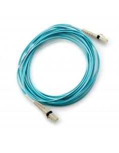 Hewlett Packard Enterprise AJ833A fibre optic cable 0.5 m LC Blue Hp AJ833A - 1