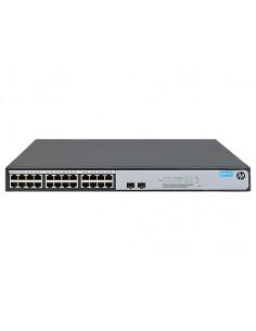 Hewlett Packard Enterprise OfficeConnect 1420 24G 2SFP+ Unmanaged L2 Gigabit Ethernet (10/100/1000) 1U Grey Hp JH018A#ABB - 1
