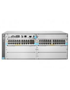 Hewlett Packard Enterprise 5406R 44GT PoE+ & 4-port SFP+ (No PSU) v3 zl2 Hallittu L3 Gigabit Ethernet (10/100/1000) Power over H