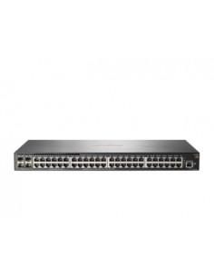 Aruba, a Hewlett Packard Enterprise company Aruba 2540 48G 4SFP+ hanterad L2 Gigabit Ethernet (10/100/1000) 1U Grå Hp JL355A - 1
