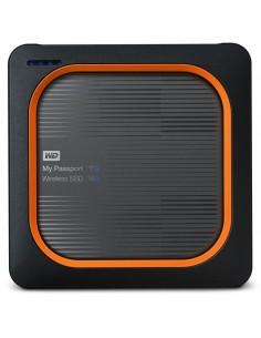 Western Digital My Passport 500 GB Wi-Fi Grey, Orange Western Digital WDBAMJ5000AGY-EESN - 1