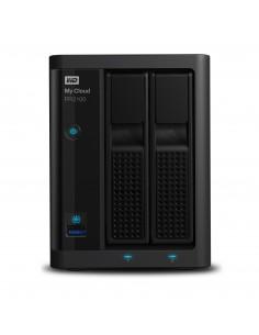 Western Digital My Cloud PR2100 NAS Desktop Ethernet LAN Black N3710 Western Digital WDBBCL0160JBK-EESN - 1