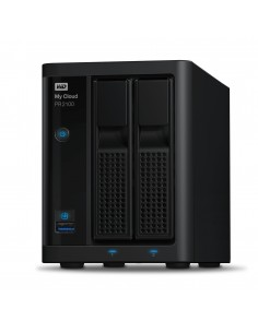 Western Digital My Cloud Pro PR2100 NAS Työpöytä Ethernet LAN Musta N3710 Western Digital WDBBCL0280JBK-EESN - 1