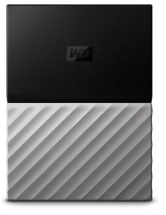 Western Digital My Passport Ultra external hard drive 4000 GB Black, Grey Western Digital WDBFKT0040BGY-WESN - 1