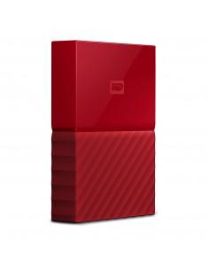 Western Digital My Passport external hard drive 4000 GB Red Western Digital WDBYFT0040BRD-EEEX - 1