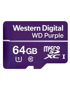 Western Digital Purple flashminne 64 GB MicroSDXC Klass 10 Western Digital WDD064G1P0A - 1