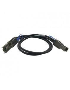 QNAP CAB-SAS30M-8644-8088 SAS (Serial Attached SCSI) -kaapeli 1 m Musta Qnap CAB-SAS30M-8644-8088 - 1