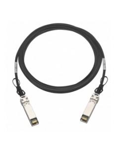 QNAP CAB-DAC30M-SFP28-DEC01 fiberoptikkablar 3 m DAC Svart Qnap CABDAC30MSFP28DEC01 - 1