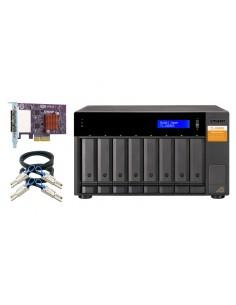 """QNAP TL-D800S storage drive enclosure HDD/SSD Black, Grey 2.5/3.5"""" Qnap TL-D800S - 1"""