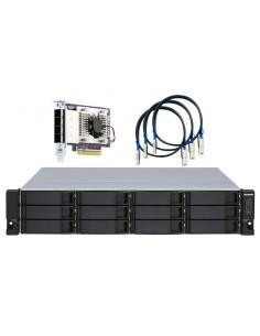 """QNAP TL-R1200S-RP storage drive enclosure HDD/SSD Black, Grey 2.5/3.5"""" Qnap TL-R1200S-RP - 1"""