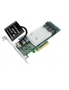 Microsemi SmartRAID 3154-24i RAID-ohjain PCI Express x8 3.0 12 Gbit/s Microsemi Storage Solution 2294700-R - 1