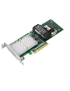 Microsemi SmartRAID 3162-8i RAID-ohjain PCI Express x8 3.0 12 Gbit/s Microsemi Storage Solution 2299800-R - 1
