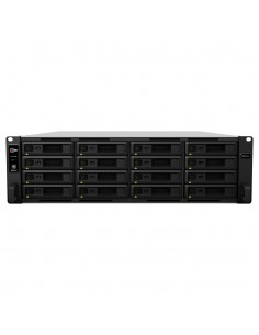 Synology RackStation RS4017xs+ NAS Rack (3U) Nätverksansluten (Ethernet) Svart, Grå D-1541 Synology RS4017XS+ - 1