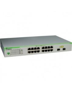 Allied Telesis AT-GS950/16PS-50 Gigabit Ethernet (10/100/1000) Strömförsörjning via (PoE) stöd Grå Allied Telesis AT-GS950/16PS-