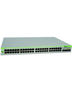 Allied Telesis AT-GS950/48-50 hanterad L2 Gigabit Ethernet (10/100/1000) 1U Grå Allied Telesis AT-GS950/48-50 - 1