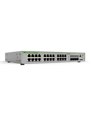 Allied Telesis AT-GS970M/28PS-30 verkkokytkin Hallittu L3 Gigabit Ethernet (10/100/1000) Power over -tuki Harmaa Allied Telesis