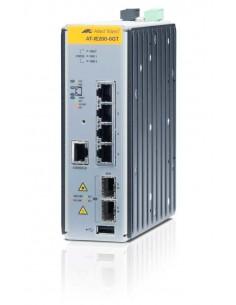 Allied Telesis AT-IE200-6GT Managed L2 Gigabit Ethernet (10/100/1000) Black Allied Telesis AT-IE200-6GT-80 - 1