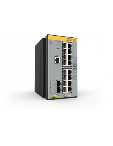Allied Telesis AT-IE340L-18GP-80 hanterad L3 Gigabit Ethernet (10/100/1000) Strömförsörjning via (PoE) stöd Grå Allied Telesis A
