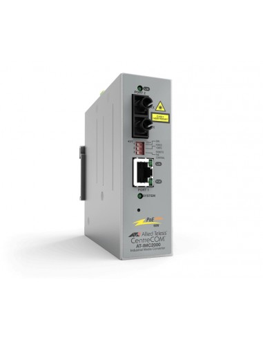 Allied Telesis AT-IMC2000TP/SC-980 network media converter 1000 Mbit/s 850 nm Multi-mode Grey Allied Telesis AT-IMC2000TP/SC-980