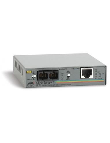 Allied Telesis AT-MC102XL mediakonverterare för nätverk 100 Mbit/s Allied Telesis AT-MC102XL-60 - 1