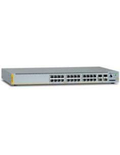 Allied Telesis AT-x230-28GP-50 hanterad L3 Gigabit Ethernet (10/100/1000) Strömförsörjning via (PoE) stöd Grå Allied Telesis AT-