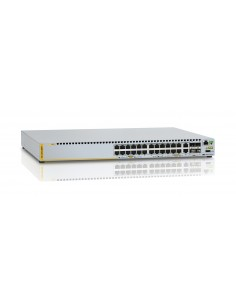 Allied Telesis AT-X310-26FP-30 verkkokytkin Hallittu L3 Gigabit Ethernet (10/100/1000) Power over -tuki Harmaa Allied Telesis AT