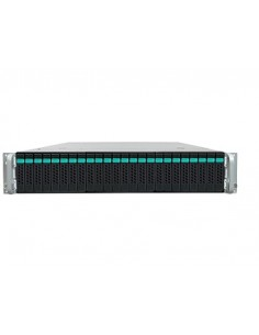 Intel R2224WTTYSR palvelinrunko Intel® C612 LGA 2011-v3 Teline ( 2U ) Musta, Metallinen Intel R2224WTTYSR - 1