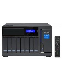 QNAP TVS-882BR i7-7700 Ethernet LAN Työpöytä Musta NAS Qnap TVS-882BR-I7-32G - 1