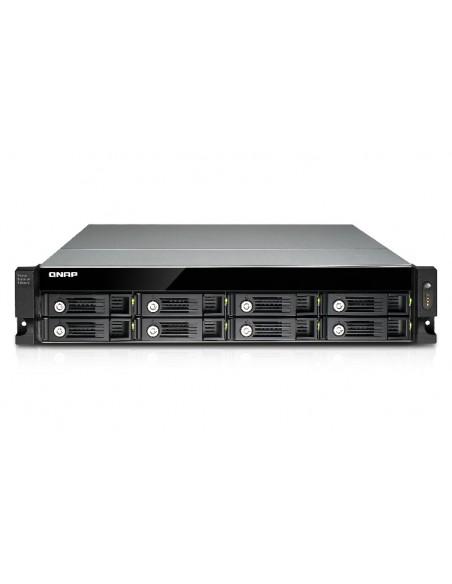 QNAP UX-800U-RP levyjärjestelmä Musta Qnap UX-800U-RP - 6