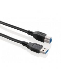 Fujitsu USB-B - USB A cable 2 m 3.2 Gen 1 (3.1 1) B Black Fujitsu Technology Solutions S26391-F6055-L320 - 1