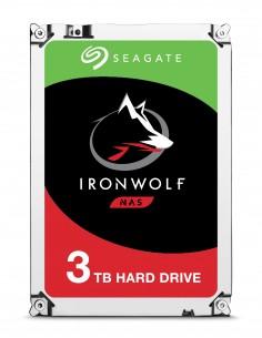 "Seagate IronWolf ST3000VN007 interna hårddiskar 3.5"" 3000 GB Serial ATA III Seagate ST3000VN007 - 1"