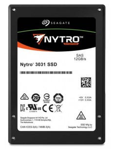"Seagate Enterprise Nytro 3731 2.5"" 400 GB SAS 3D eTLC Seagate XS400ME70004 - 1"