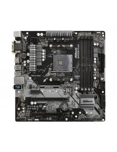 Asrock B450M Pro4 Kanta AM4 mikro ATX AMD B450 Asrock 90-MXB8F0-A0UAYZ - 1
