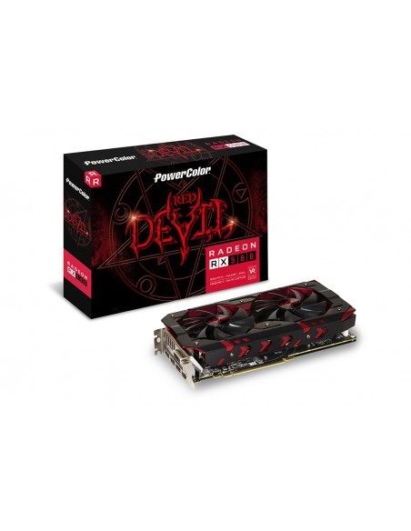 PowerColor Red Devil AXRX 580 8GBD5-3DH/OC graphics card AMD Radeon RX 8 GB GDDR5 Tul Corporation AXRX580 8GBD5-3DH/OC - 1