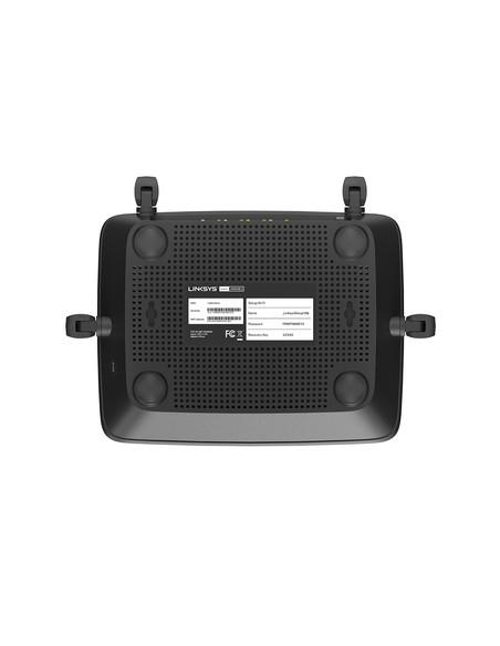 Linksys MR8300 wireless router Gigabit Ethernet Tri-band (2.4 GHz / 5 GHz) Black Linksys MR8300-EU - 5