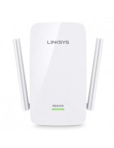 Linksys AC1200 300 Mbit/s Vit Linksys RE6400-EU - 1