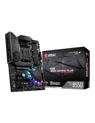 MSI MPG B550 Gaming Plus AMD Uttag AM4 ATX Msi MPG B550 GAMING PLUS - 1