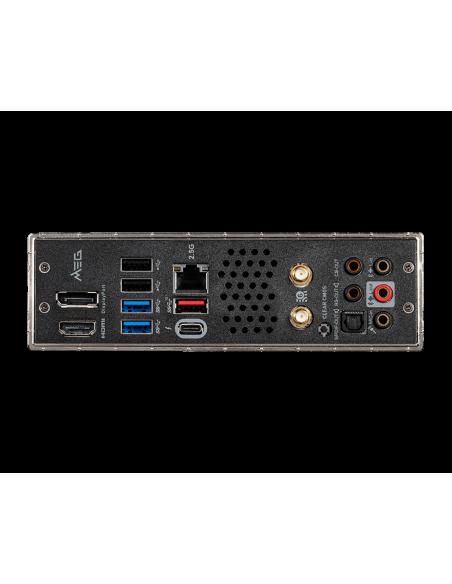 MSI MEG Z490I UNIFY 'Mini-ITX, LGA1200, DDR4, 802.11ax WiFi 6 + Bluetooth 5.1, USB 3.2 Gen2, Type C, M.2 Msi MPG Z490I UNIFY - 5