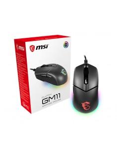 MSI Clutch GM11 datormöss Ambidextrous USB Type-A Optisk 5000 DPI Msi S12-0401650-CLA - 1