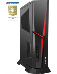 MSI Trident A 9SC-496MYS i7-9700F Työpöytä 9. sukupolven Intel® Core™ i7 16 GB DDR4-SDRAM 1512 HDD+SSD Windows 10 Home PC Musta