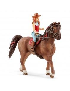 Schleich Horse Club Hannah & Cayenne Schleich 42411 - 1