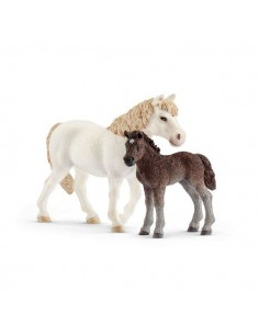 Schleich Farm Life Pony mare and foal Schleich 42423 - 1